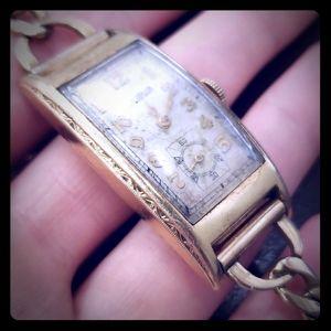 Vintage 12K Gold Watch